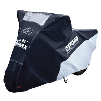 Oxford RAINEX Deluxe Outdoor Rain & Dust Motorcycle Cover  - Click to view larger image