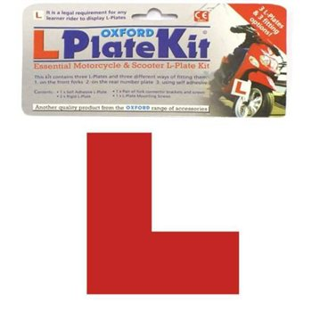 Oxford L Plate Kit  - Click to view larger image
