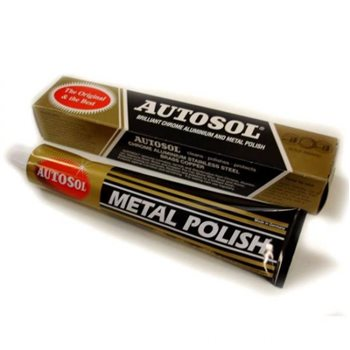 Autosol Chrome Aluminium and Metal Polish 75ml  - Click to view larger image