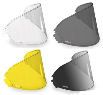 One Size Fits Most HJC HJ-07 Pinlock Anti-Fog Lens CL-14 Sports Bike Racing Motorcycle Helmet Accessories Clear