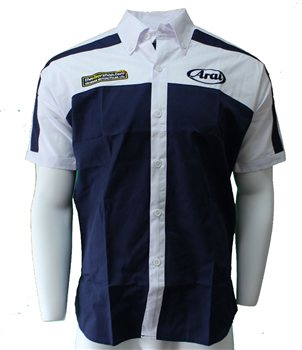 TheVisorShop Arai Short Sleeve Slim Fit Crew Shirt  - Click to view larger image