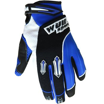 Wulfsport Stratos MX Gloves (Blue)  - Click to view larger image