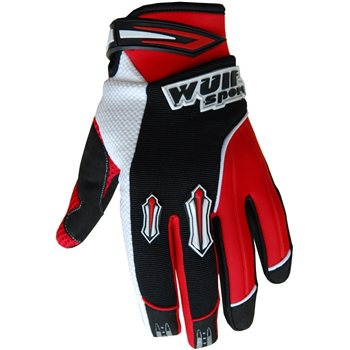 Wulfsport Stratos MX Gloves (RED)  - Click to view larger image