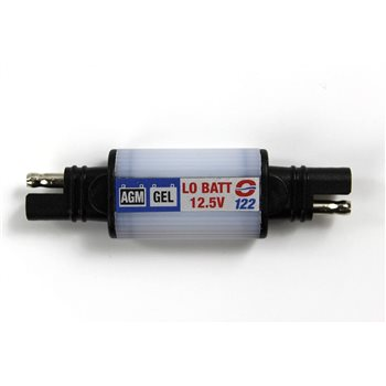 Optimate SAE 122 CHARGE NOW! Warning Flasher SEALED AGM & GEL (SAE Connector)  - Click to view larger image