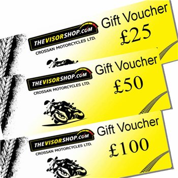 TheVisorShop Gift Vouchers  - Click to view larger image