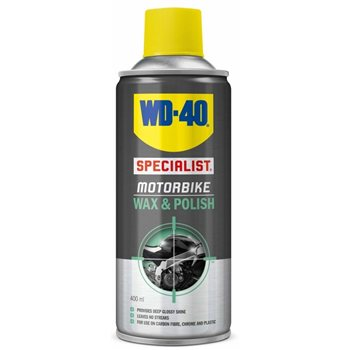 WD40 Motorbike Wax & Polish  - Click to view larger image