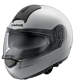 d5aab49c Schuberth C3 Basic Flip Up Motorcycle Helmet (Silver) Schuberth C3 Basic Flip  Up Motorcycle