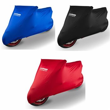 Oxford Protex Stretch Motorcycle Cover (Indoor Cover) 3 Colours Oxford-Protex-Stretch-Motorcycle-Cover - Click to view larger image