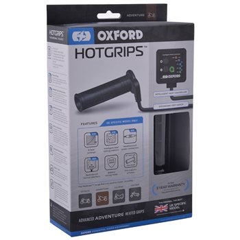 Oxford Hot Grips Advanced Adventure Heated Grips  - Click to view larger image