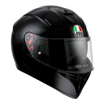 AGV  K3 SV Gloss Black Helmet  AGV K3 SV GLOSS BLACK Helmet  - Click to view larger image