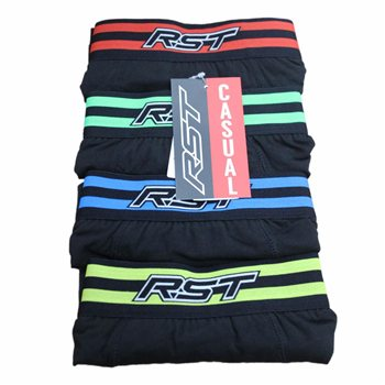 RST Mens Boxer Shorts 0199 (4 Pack) RST-Mens-Boxer-Shorts-0199-4-Pack - Click to view larger image