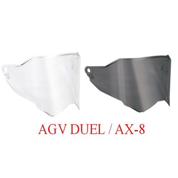 AGV Dual Visor Fits all AX8 Helmets AGV-Dual-Visor-Fits-all-AX8-Helmets - Click to view larger image