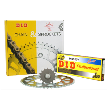 DID Chain & Sprocket Kit - Just choose Bike Size & Chain Quality DID-Chain-Sprocket-Kit - Click to view larger image