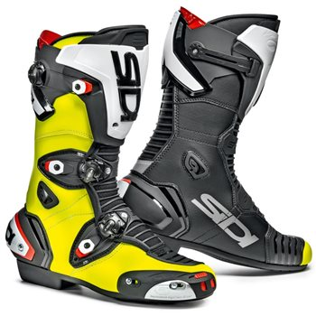 Sidi Mag-1 Motorcycle Boots CE (Fluo Yellow/Black) Sidi-Mag-1-Boots-Fluo-Yellow-Black - Click to view larger image