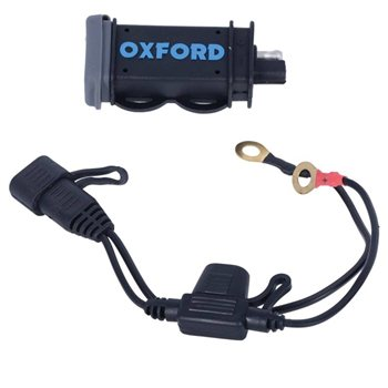 Oxford High Power USB 2.1 Charging Kit (EL114) Oxford-High-Power-USB-2.1-Charging-Kit-EL114 - Click to view larger image