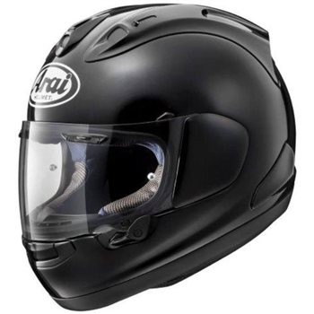 Arai RX-7V Diamond Black Motorcycle Helmet  - Click to view larger image