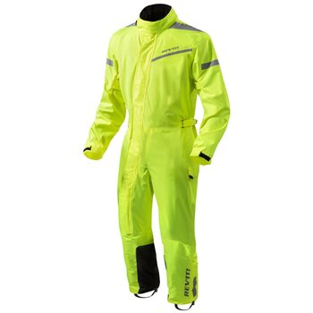 Revit Motorcycle Rainsuit Pacific 2 H2O (Neon Yellow)  - Click to view larger image