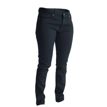 RST Ladies Aramid Jeans Straight Leg 2220 & 2221 (Black)   - Click to view larger image