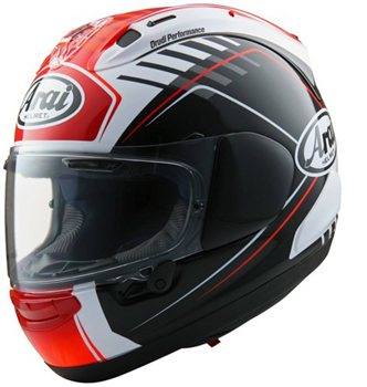 Arai RX-7V REA Motorcycle Helmet  - Click to view larger image