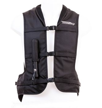 Helite Motorcycle Airbag Vest (Black)  Helite-Motorcycle-AirVest-(Black) - Click to view larger image