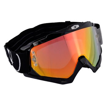Oxford Assault Pro Goggles (Gloss Black) Oxford-Moto-X-Assault-Pro-Goggles - Click to view larger image