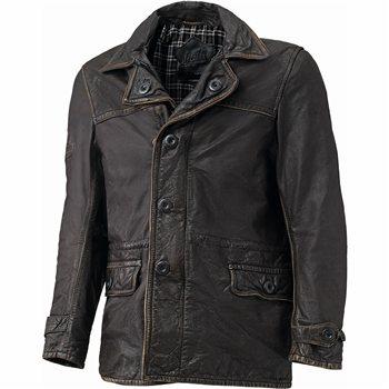 Held Retro Leather Motorcycle Jacket Tribute (Brown) | The Visor ...