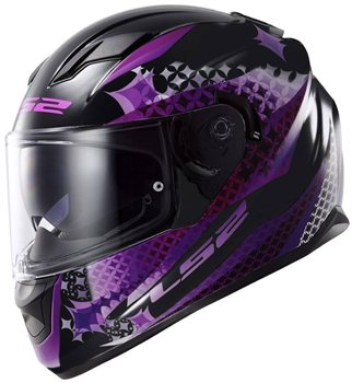 LS2 Stream FF320 Lux Motorcycle Helmet (Matt Black/Pink) LS2-Stream-FF320-Lux-Motorcycle-Helmet-(Matt-Black-Pink) - Click to view larger image