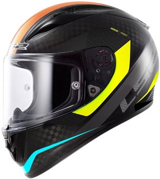 LS2 FF323 Arrow C Tronic Carbon Motorcycle Helmet (Hi Viz Yellow)  LS2-FF323-Arrow-C-Tronic-Carbon-Motorcycle-Helmet-(Hi-Viz-Yellow) - Click to view larger image
