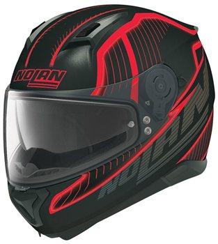 nolan n87 harp classic n com motorcycle helmet flat black. Black Bedroom Furniture Sets. Home Design Ideas