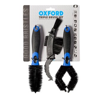 Oxford Bicycle Brush Set (OX244) Oxford-Bicycle-Brush-Set-(OX244) - Click to view larger image