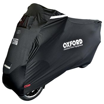 Oxford Protex Stretch Motorcycle Cover For 3 Wheel Bikes (Outdoor Cover)   - Click to view larger image