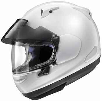 Arai QV-Pro Motorcycle Helmet (Diamond White) Arai-QV-Pro-Diamond-White-Motorcycle-Helmet - Click to view larger image
