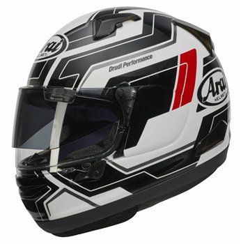 Arai QV-Pro PLACE Motorcycle Helmet (White) Arai-QV-Pro-PLACE-Motorcycle-Helmet-White - Click to view larger image