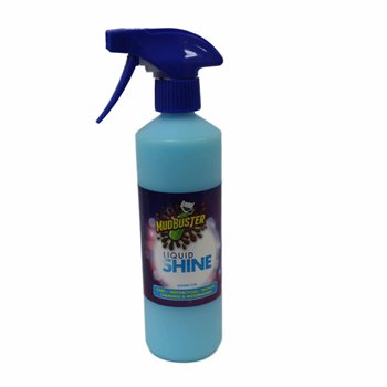 MudBuster Liquid Shine Waterless Cleaner Mudbuster-Liquid-Shine - Click to view larger image