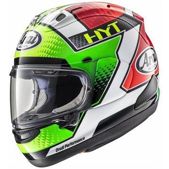 Arai RX-7V Motorcycle Helmet GIUGLIANO Replica Arai RX-7V Motorcycle Helmet GUIGLIANO REPLICA - Click to view larger image