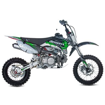 Stomp Pitbikes Demon X Dxr2 125 Pit Bike The Visor Shop Com