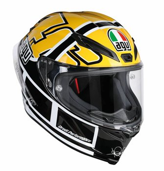 AGV Corsa-R Rossi Goodwood Motorcycle Helmet AGV Corsa-R ROSSI GOODWOOD Motorcycle Helmet - Click to view larger image