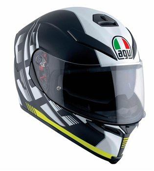 AGV K5-S DARKSTORM Motorcycle Helmet (Matt Black/Yellow) AGV K5-S DARKSTORM Motorcycle Helmet Matt BlackYellow - Click to view larger image