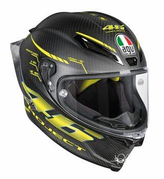 AGV Pista GP-R PROJECT 46 2.0 Carbon Matt Helmet AGV Pista GP-R PROJECT 46 2.0 Carbon Matt Motorcycle Helmet - Click to view larger image