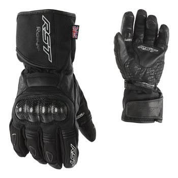 Rallye CE Motorcycle Glove 2134 (Black) - 07 XSMALL