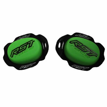 RST TPU Knee Sliders (Neon Green) 1921 RST-TPU-Knee-Sliders-Green-1921 - Click to view larger image