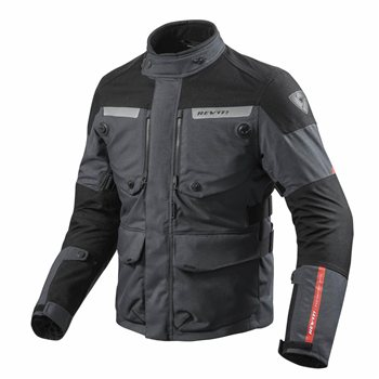 Revit Horizon 2 Motorcycle Jacket (Anthracite/Black) FJT226 Revit Jacket Horizon 2 Motorcycle Jacket AnthraciteBlack - Click to view larger image