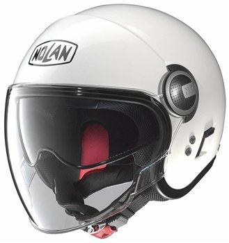 nolan n21 visor classic metal white the visor. Black Bedroom Furniture Sets. Home Design Ideas