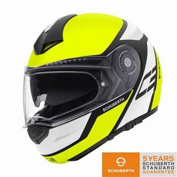 C3 pro echo green helmet helmets modular schuberth dainese.