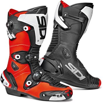 Sidi Mag-1 Air Motorcycle Boots (Flo Red/Black) - Special Order Sidi-Mag-1-Air-Motorcycle-Boots-Flo-Red-Black - Click to view larger image