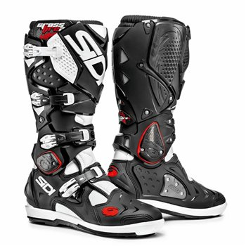 Sidi Crossfire 2 SRS Motocross CE Boots (Black/White) Sidi-Crossfire-2-SRS-Motocross-Boots-Black-white - Click to view larger image