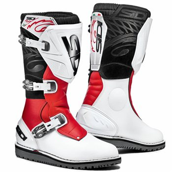 Sidi Trial Zero 1 Off-Road Motorcycle Boots (White/Red) Sidi-Trial-Zero-1-Off-Road-Motorcycle-Boots-Black-Red - Click to view larger image
