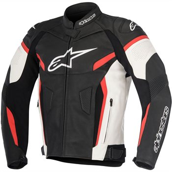 Alpinestars Gp Plus R V2 Leather Jacket (Black/White/Red) Alpinestars-