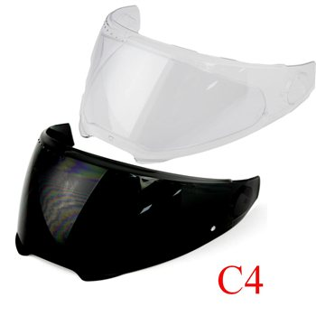 Schuberth C4 | C4 Pro | C4 Basic Visors  - Click to view larger image