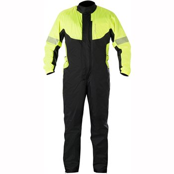 Alpinestars Hurricane Rain Suit (Black/Fluo Yellow) Alpinestars-Hurricane-Rain-Suit-Black-yellow - Click to view larger image